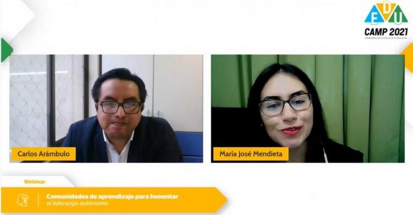FONDEP dialogó sobre autonomía y comunidades de aprendizaje en EduCamp 2021