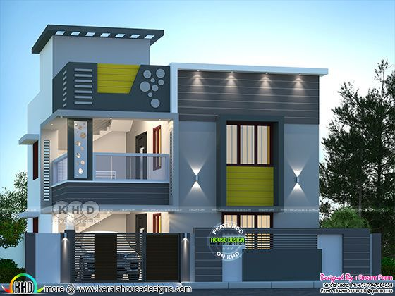 June 2020 Kerala Home Design And Floor Plans 8000 Houses