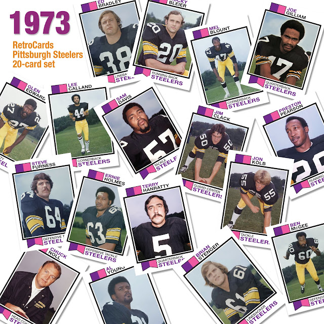 1973 Topps football cards