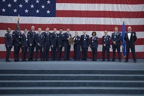 Airman Leadership School Class 19-5 graduate at Barksdale