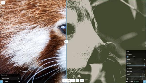 Squoosh ضغط المثال 3 صورة