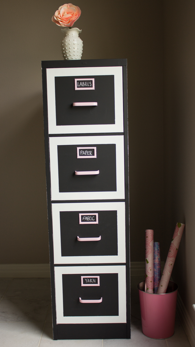 File Cabinet Makeover | Design Improvised
