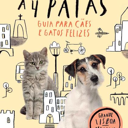 """Leituras - """"A Cidade a 4 Patas - Guia para Cães e Gatos Felizes"""""""
