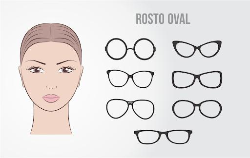 modelos de óculos para rosto oval