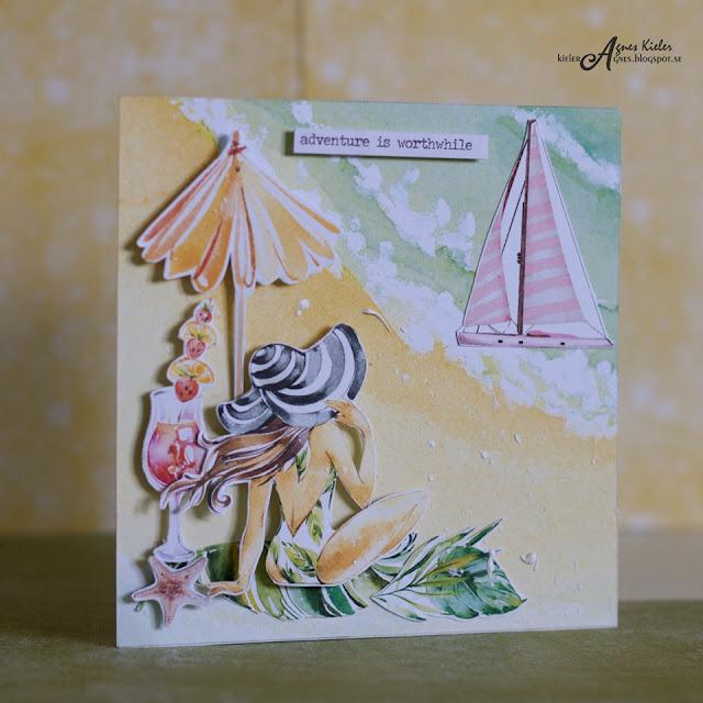 kartka -pozdrowienia z wakacji