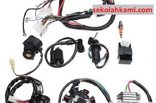 komponen sepeda motor