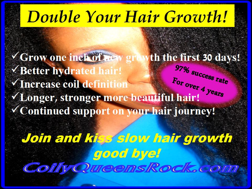 Coilyqueens How To Grow Your Hair Long Strong