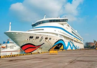 RO-RO CRUISE FERRY SERVICE BETWEEN SURAT AND DIU TICKET PRICE AND TIME TABLE