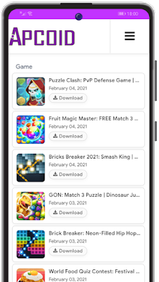 Screenshot APCOID APP