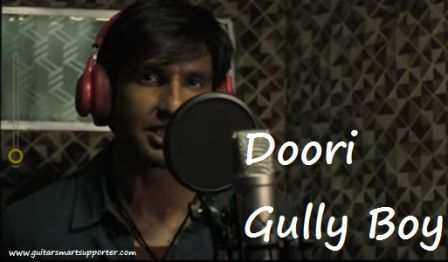 Doori Guitar Chords & Lyrics with Strumming Pattern Gully Boy | Ranveer Singh