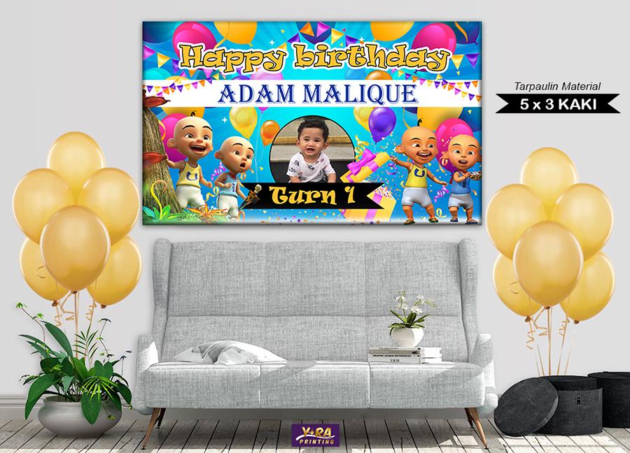 banner birthday murah, banner hari jadi, tarpaulin banner, banner murah