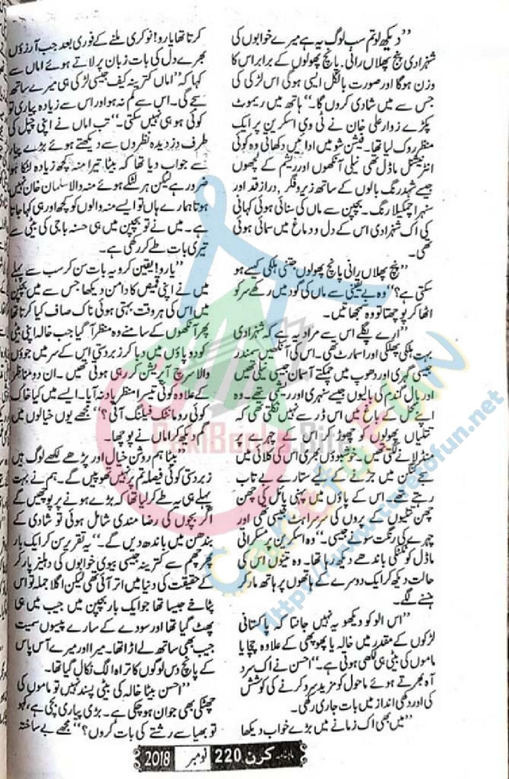 Panj Phulan Rani by Gul Arbab Feudal Based Novel Online