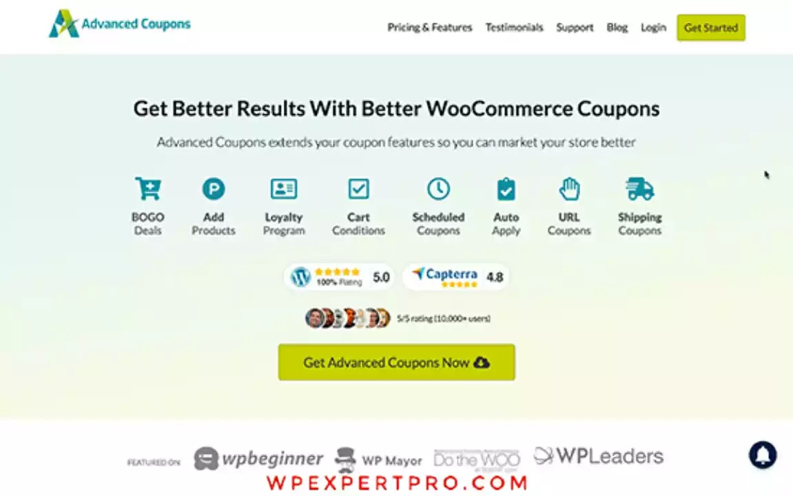 4. Advanced Coupons