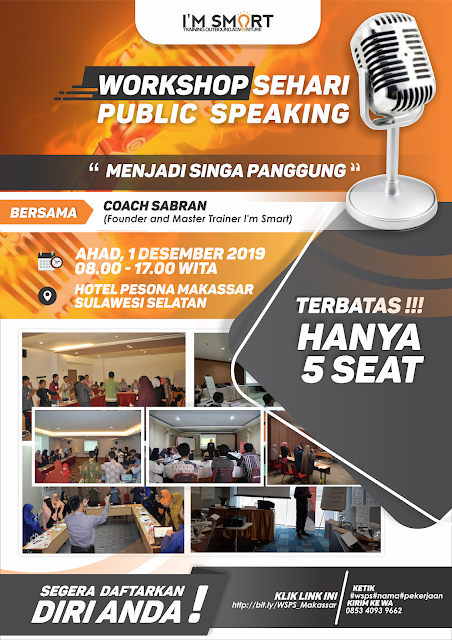 Workshop Public Speaking Makassar