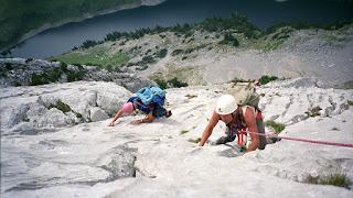 Bergsteigen im Alpstein 1990