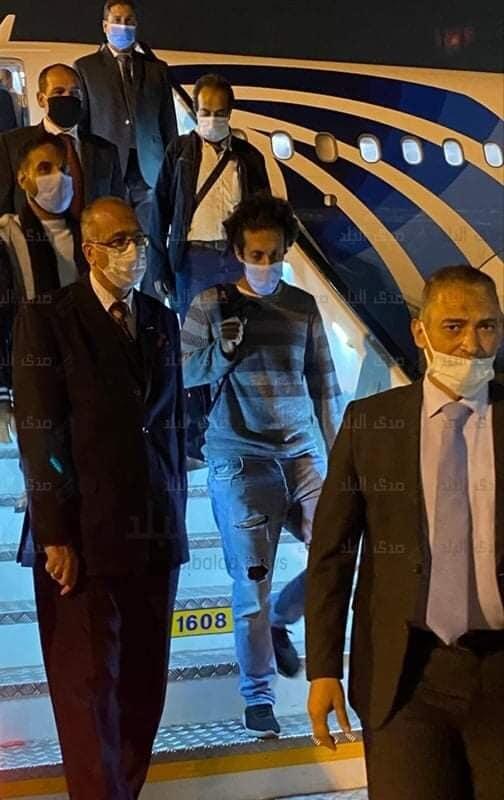 وصول المصريين المحرريين