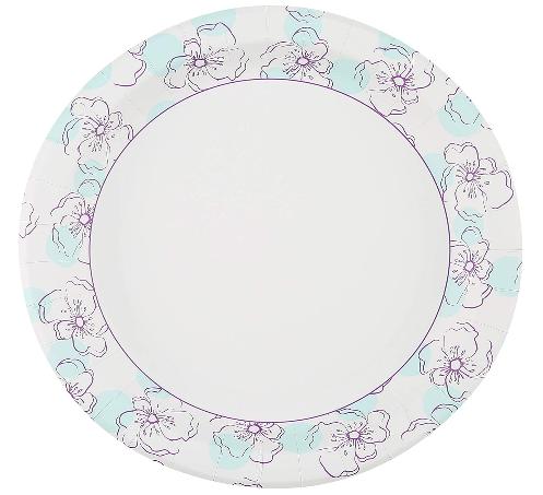 glad paper plates
