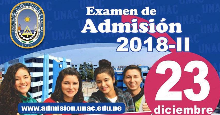 Resultados UNAC 2018-2 (Examen 23 Diciembre) Lista Ingresantes Admisión General - Universidad Nacional del Callao - www.unac.edu.pe