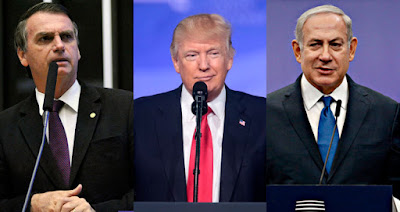 Bolsonaro, Trump e Netanyahu