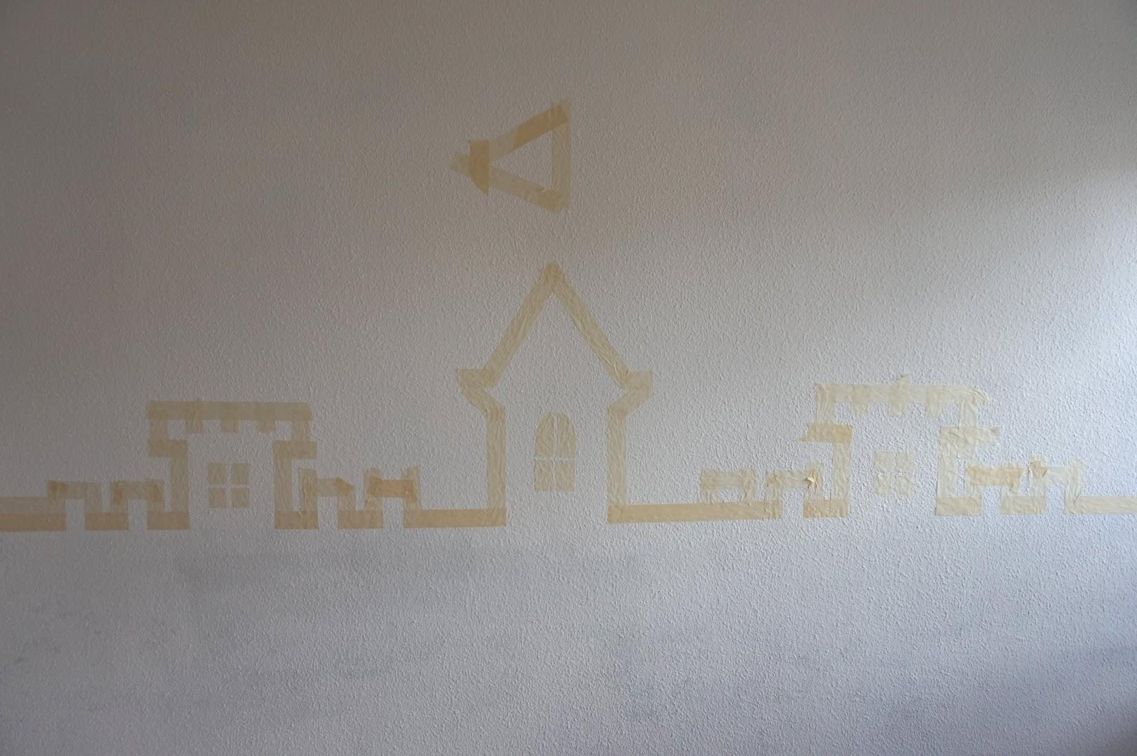 Wirbelwinds neugestaltetes Kinderzimmer - eine pinke Schloss-Wand ...