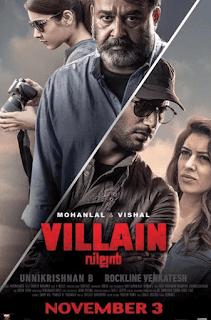 Villain 2017 Hindi Dubbed 720p WEBRip