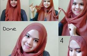Pipi Tembem Tutorial Hijab Pashmina Simple Untuk Remaja Wajah Bulat Hijabfest