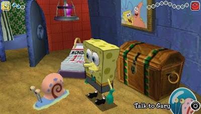 Download SpongeBob Squarepants: The Yellow Avenger PSP/PPSSPP