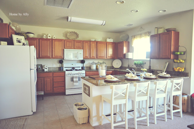 Home By Ally Kitchen Dining Updates Tour