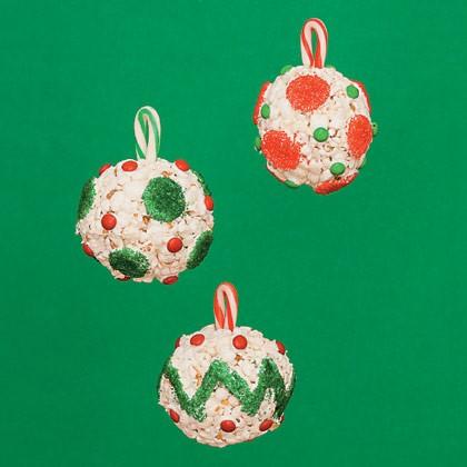 Popcorn Ball Ornaments Recipe
