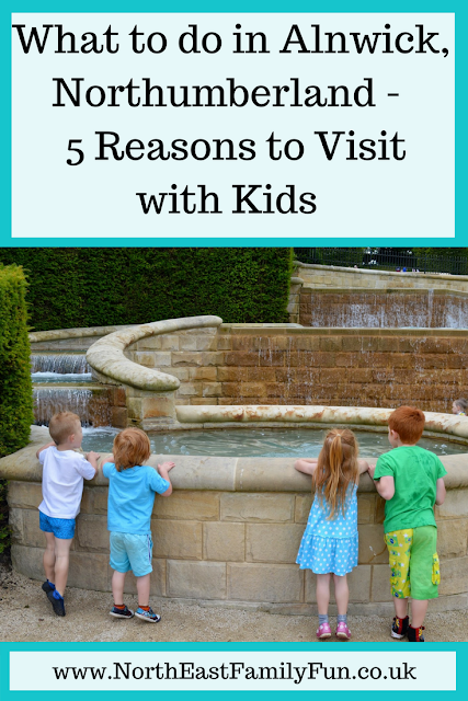 What to do in Alnwick, Northumberland | 5 Reasons to Visit with Kids
