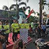 Kapolda Banten dan PJU Polda Banten Ikuti Sepeda Jelajah Banten Merdeka