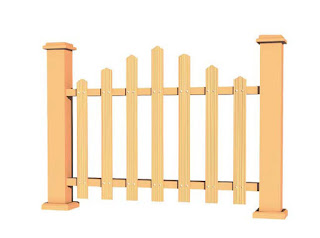 Wood Plastic Composite Fencing 3