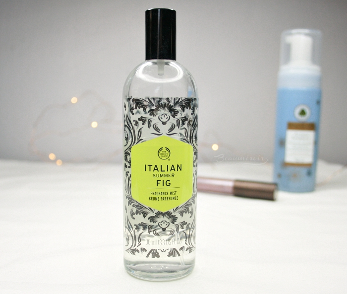 the body shop italian summer fig fragrance body mist