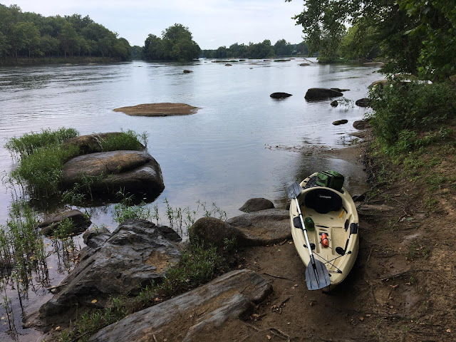 "Portage around ""Z"" Dam at Williams Island on the James River"