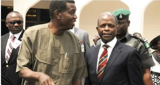 Garba Shehu's 'attack' on Adeboye was to rebuke Osinbajo