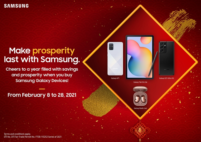 SAMSUNG's Chinese New Year and Valentine's Day Promos: Get the best deals on your favorite gadgets