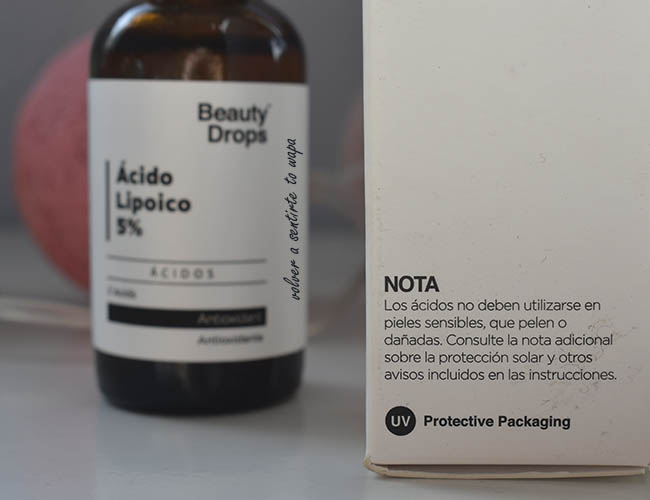 Ácido Lipoico 5% de Beauty Drops