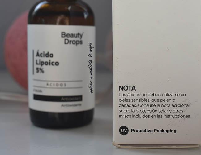 Ácido Lipoico 5% de Beauty Drops