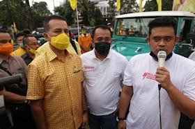Sah! Bobby Mantu Jokowi Menang Pilkada Medan, tapi Golput 54 Persen, Ada Apa?