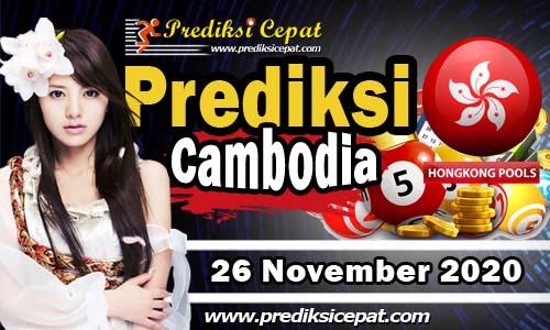 Prediksi Nomor Togel Cambodia 26 November 2020