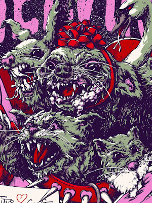 Melvins Valentine's Day poster detail
