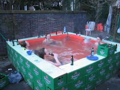 Bierre et piscine, le combo gagnant