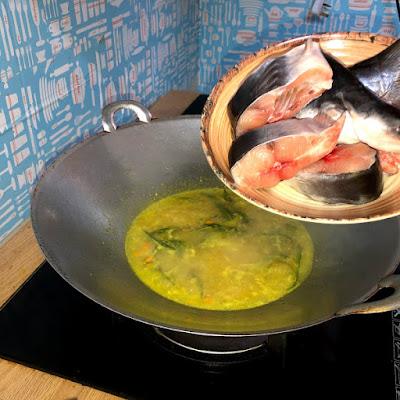 Ikan Patin Tumis Tempoyak