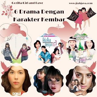 6 drama karakter kembar