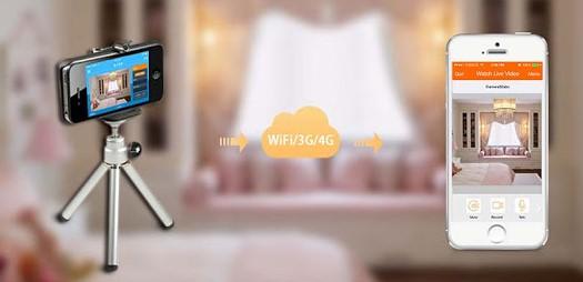 ဖုန္းကို ကိုယ့္အိမ္မွာ CCTV ကင္မရာလုပ္ထားနိုင္မည့္ နည္းလမ္း