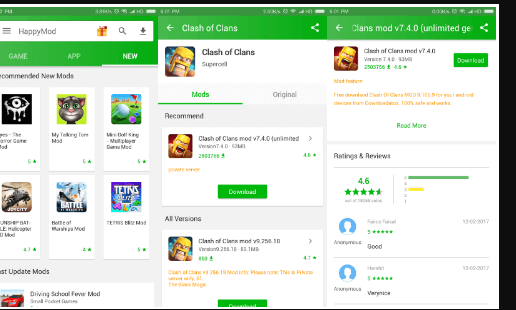 Download HappyMod Apk 2 3 5 For Android (Latest 2019