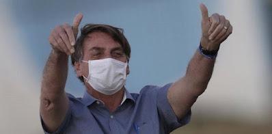 Jair Bolsonaro Positif Kembali