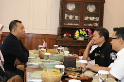 Sambut Tim OK OCE,  Dr Zul harap Tularkan Semangat Wirausaha Anak Muda NTB