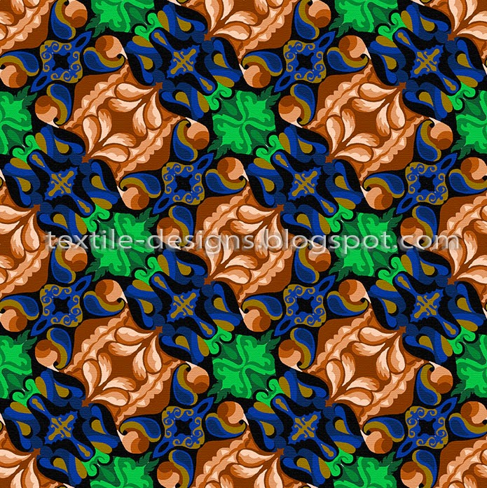 indian textile pattern and design 10