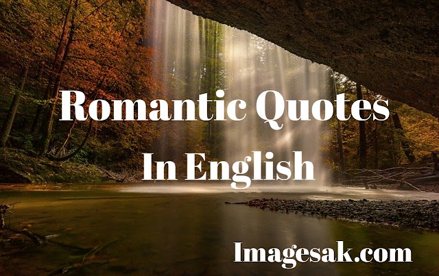Romantic Quotes In English